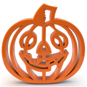 3D Printed Pumpkin Carving