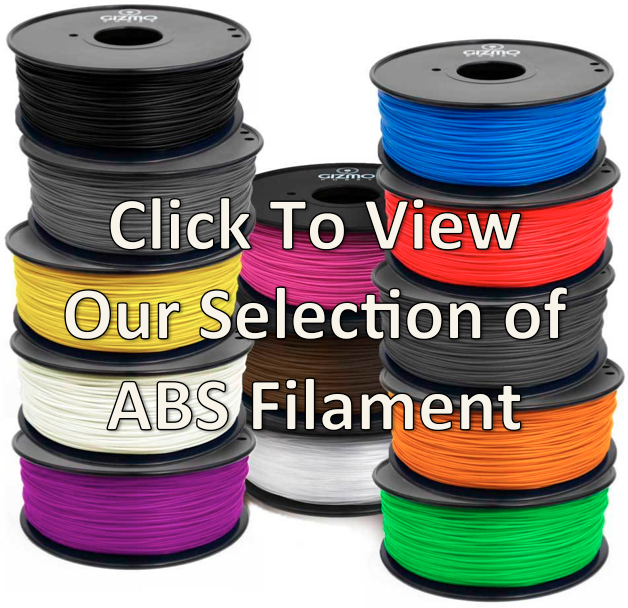 Gizmo Dorks ABS Filament for 3D Printing